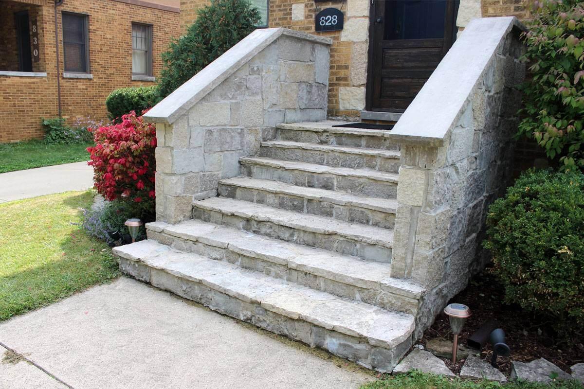 Flagstone Stairs In Villa Park, IL